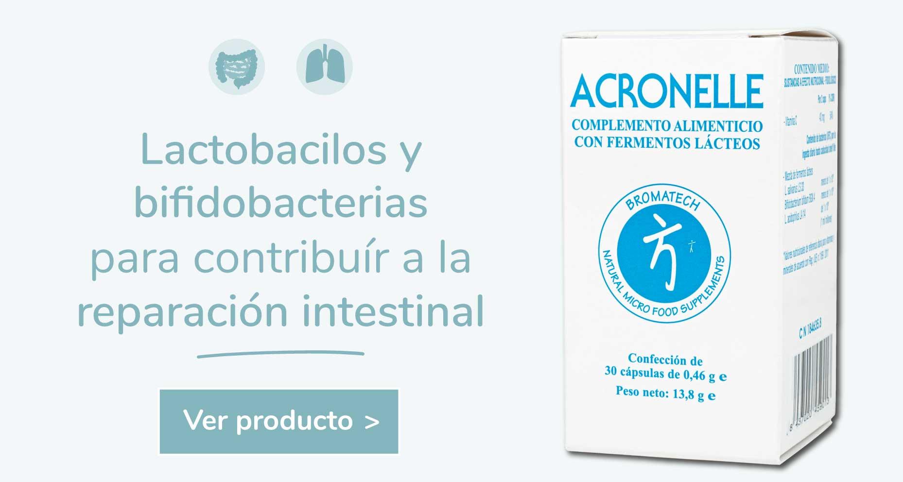 Acronelle Probióticos para Intestino irritable, Crohn, Colitis Ulcerosa