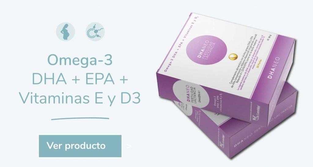 Omega 3 Dhaneo EPA y DHA Fertilidad y Lactancia