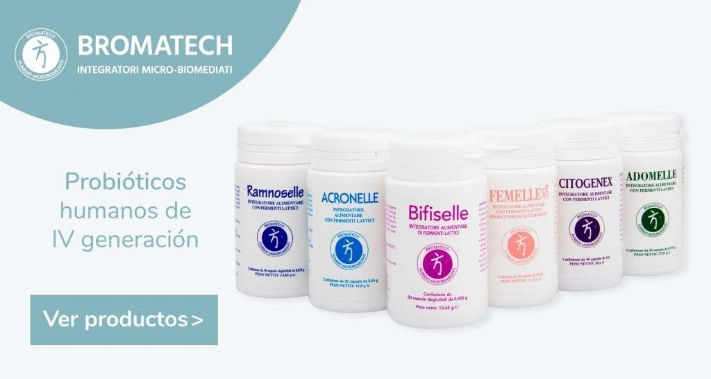 Bromatech probióticos de 4 generación y derivación humana microbioterapia